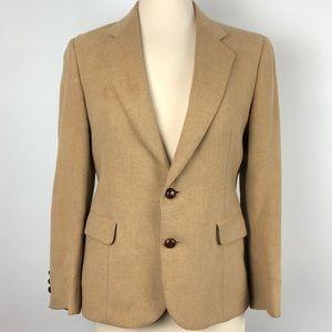 Corporate Woman Kleinhans camel hair blazer jacket